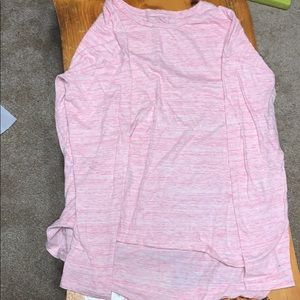 Long sleeve pink shirt!